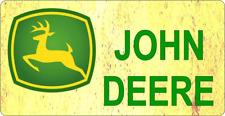 "11 x 6""  JOHN DEERE  -  METAL SIGN - TRACTOR FARM FARMING AGRICULTURE   183"
