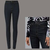 Ladies M&S AUTOGRAPH Skinny High Waist Jeans Indigo Sizes 6 - 24