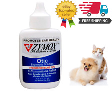 Zymox Pet King Brand Otic Ear Treatment with Hydrocortisone, 1.25oz Band New