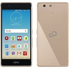 FUJITSU ARROWS M03 SV METAL FRAME SLIM TOUGH ANDROID PHONE UNLOCKED GOLD F-03H