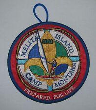 Camp Melita Island (MT) 2011 Pocket Patch  BSA