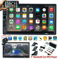 """7"""" Double 7018B 2DIN Car Stereo Radio MP5 Player Touch Screen FM Bluetooth AUX"""