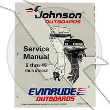Johnson Evinrude 1997 5hp - 15hp 4 Stroke OEM Shop Factory Repair Service Manual