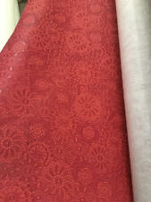 Red Sphere Embossed vinyl faux leather upholstery, Hospitality, Chair ROLLED