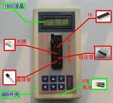 Digital LED IC Tester Detect IC Tester Meter Maintenance Transistor MOS PNP NPN