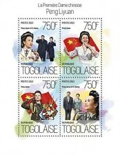 Togo 2014 Peng Liyuan Xi Jinping China S/S TG13813