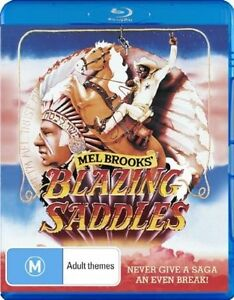 Blazing Saddles (Blu-ray) New & Sealed Mel Brooks Classic w/ Special Features