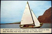 """** DRAGON BOAT """" of  HONG KONG - redesigned for  FISHING  SAILING  WATER SKIING"""