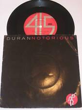 """DURAN DURAN - Notorious - Rare 1986 7"""" Promo"""
