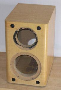 Maple Finished DIY Speaker Cabinet Center Channel Box