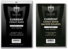 1000 Current Comic Bags and Boards Max Pro NEW Modern Archival Book Storage