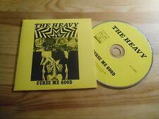 CD Pop Heavy - Curse Me Good (4 Song) Promo COUNTER REC NINJA TUNE cb