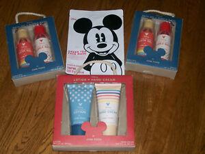 Disney Mickey Limited Edition Target Junk Food Lotion Bath Gel Bubble Mask Lot