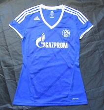 SCHALKE 04 Gelsenkirchen home shirt jersey ADIDAS 2012-2013 Ladies WOMEN SIZE S