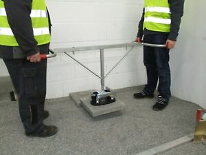 Probst FXAH120 Hand Vacuum Lifter c/w Duo Handle Slab Paving Patio Tiles.
