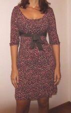 Vendo abito intero vestito fantasia floreale misto lana taglia 42/44