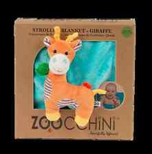 Zoocchini Buddy Blanket - Giraffe | Giraffe Blanket for Prams and Pushchairs