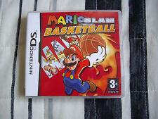Mario Slam Basketball - Nintendo DS - Edicion España - Completo