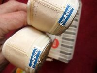 sz 5 M NEW NOS true Vtg White Lo Top canvas tennis sneakers shoes womens USA