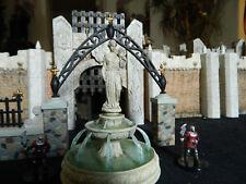 Courtyard Fountian, amazing detail, RPG D&D terrain Mage Knight Warhammer castle
