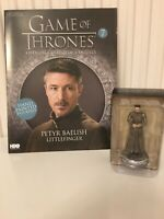 GAME OF THRONES ISSUE 7 PETYR BAELISH EAGLEMOSS FIGURINE FIGURE COLLECTORS MODEL
