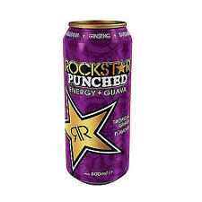 12 Dosen a 0,5L Rock Star Energy Drink Guave inc. Pfand Rockstar