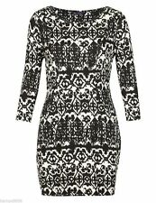 Marks and Spencer Scoop Neck 3/4 Sleeve Tunic Women's Dresses