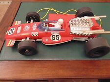 macchina formula 1 LOTUS  giocattolo vintage  pilota mario andretti