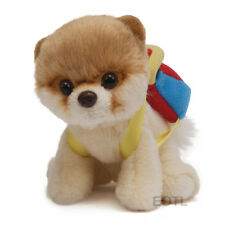 PLUSH SOFT TOY GUND ITTY BITTY BOO BACKPACK World's Cutest Dog Fluffy Pomeranian