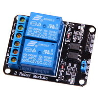 2-Kanal Relais 5V 10A mit Optokoppler für Arduino Modul Channel Relay