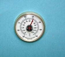 50mm Gold Plastic Thermometer Insert N50