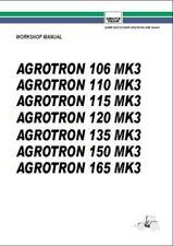 Deutz Fahr Agrotron 106 110 115 120 135 150 165 MK3 Tractor Workshop Manual 0182