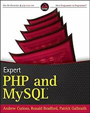 Expert Php and MySql Paperback Andrew Curioso