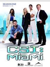 CSI Miami - Season 1.1  - 3 DVDs