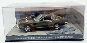 EBOND Aston Martin DBS- Agente 007 - Al servizio segreto di Sua Maestà 1:43 S036