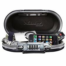Security Box Fire Proof Safe Lock Cash Money Gun Jewelry Storage Safety Portable