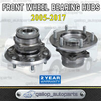 FOR TOYOTA HIACE FRONT WHEEL BEARING HUBS COMPLETE LH RH PAIR TRH KDH SERIES 05>