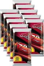 Panini - Disney Cars 3 Trading Cards - 10 Booster - Deutsch