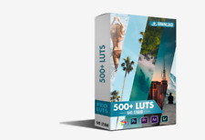 540 Cinematic LUTS Pack – 640 Studio