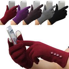 Fashion Femmes Gants Hiver En Coton Mitaines Extérieur Écran Tactile