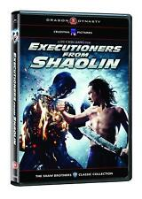 Executioners From Shaolin (Dragon Dynasty) DVD Brand New (VG-A84541DV / VG-220)