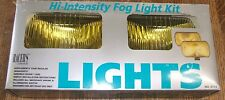 Racer's Choice Rally High Intensity Off-Road 4x4 Fog Light Kit Amber  NOS