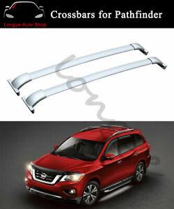 Fits for Nissan Pathfinder 2013-2020 Crossbar Cross bar Roof Rack Rail Carrier