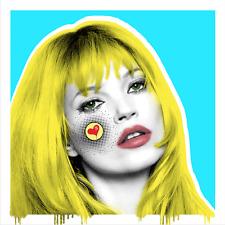 Pop Art, Kate M Portrait, Contemporary Art on Paper ,Famous Celebrities