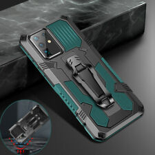 For Samsung Galaxy A21S S20 A51 A71 A20S Magnetic Armor Rugged Stand Case Cover