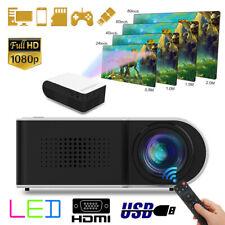 Mini Portable Pocket Projector HD 1080P Movie Video HDMI Projectors Home Theater