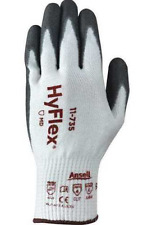 New Ansell HyFlex 11-735 Cr+ Cut Resistant Gloves, Size 11, 6 Pair