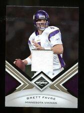 Brett Favre 2010 Panini Limited Jersey Relic #55 Vikings Mint 31367