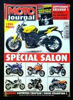 MOTO JOURNAL N°1681 du 29 septembre 2005