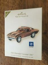 Hallmark Keepsake Ornament 1963 Chevrolet Corvette Z06 Repaint of 13th 2008 Gm